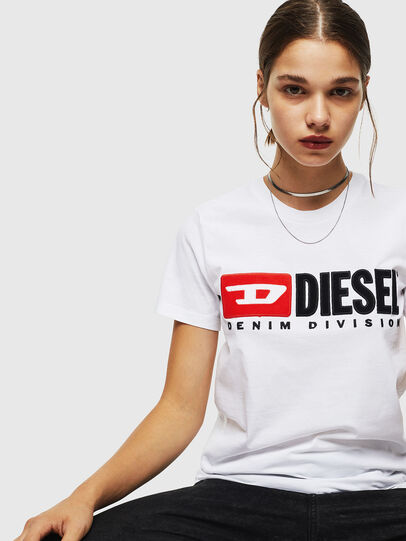 Diesel - T-SILY-DIVISION, Weiß - T-Shirts - Image 4