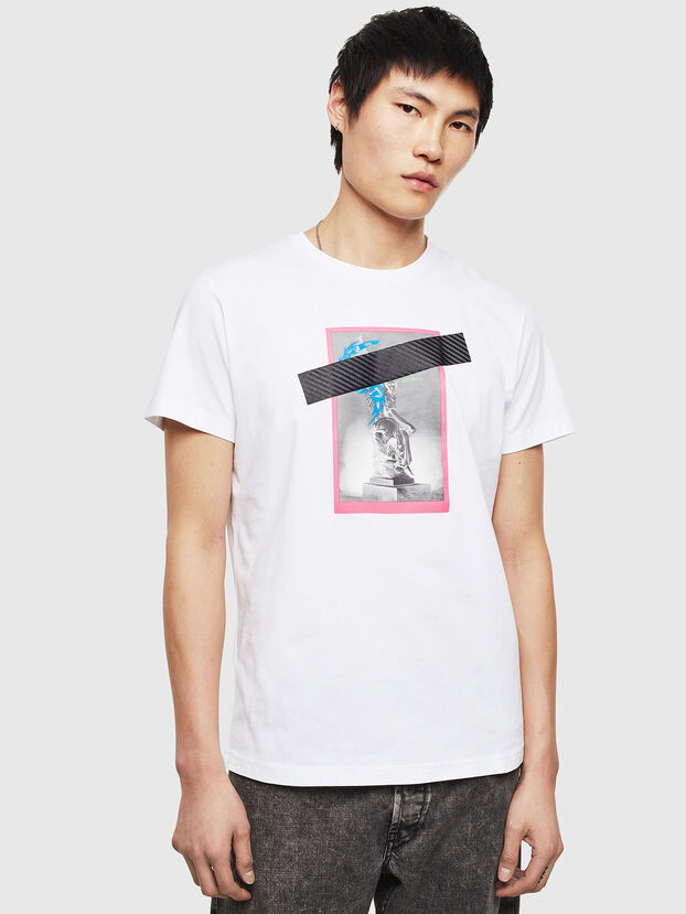 T-DIEGO-S8, Weiß - T-Shirts
