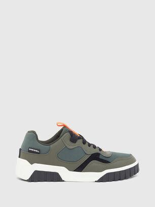 S-RUA LOW SK, Olivgrün - Sneakers