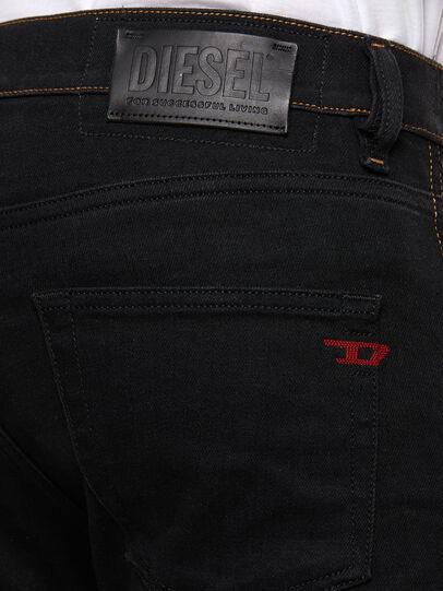 Diesel - D-Strukt 009HY, Schwarz/Dunkelgrau - Jeans - Image 4