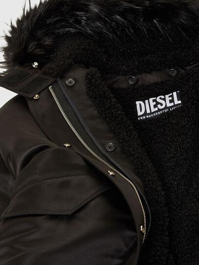 Diesel - W-URSULA-A, Schwarz - Winterjacken - Image 8