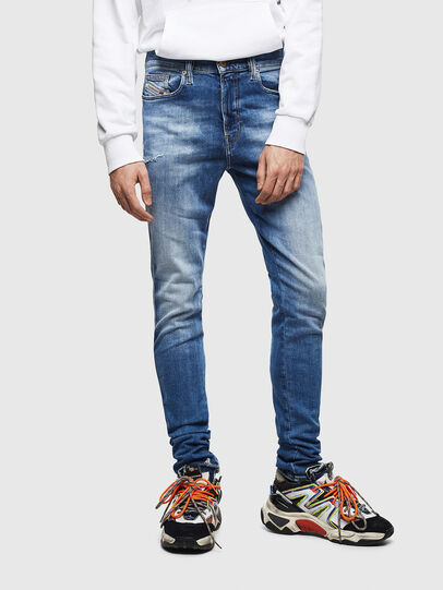 Diesel - D-Istort 009CJ, Mittelblau - Jeans - Image 1