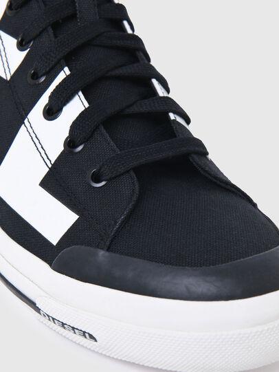Diesel - S-ASTICO MID CUT, Schwarz/Weiss - Sneakers - Image 5