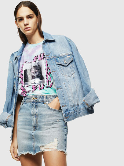 Diesel - T-DARIA-M, Bunt - T-Shirts - Image 5