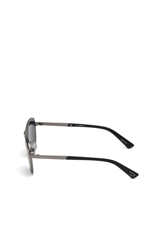 Diesel - DL0261, Schwarz/Grau - Sonnenbrille - Image 3