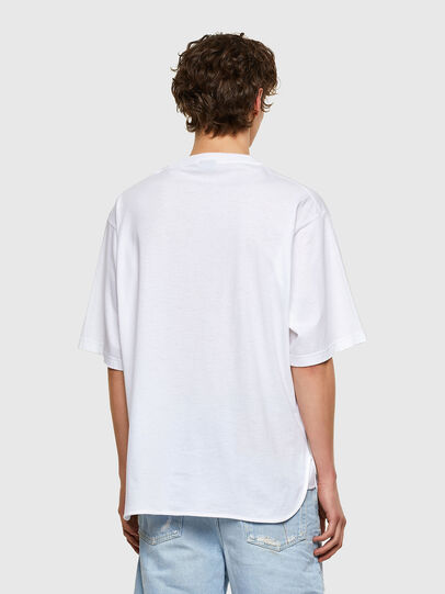 Diesel - T-DELPHONE, Weiß - T-Shirts - Image 2