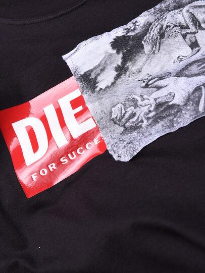 Diesel - TJUSTXH, Schwarz - T-Shirts und Tops - Image 3