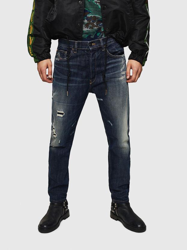 D-Eetar 0890W, Dunkelblau - Jeans