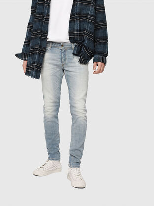 Sleenker 081AJ, Hellblau - Jeans