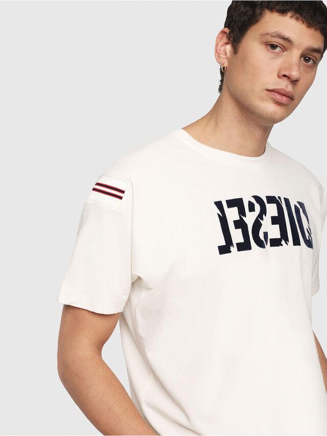 Diesel - T-TRYLL, Weiß - T-Shirts - Image 2