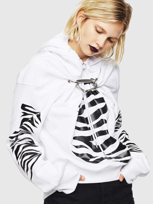 F-ALBYHOOK-C, Weiß - Sweatshirts