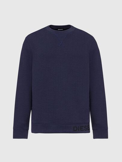 Diesel - S-PEWTER, Blau - Sweatshirts - Image 1