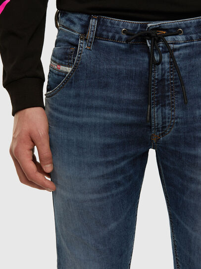 Diesel - Krooley JoggJeans 069NL, Mittelblau - Jeans - Image 3