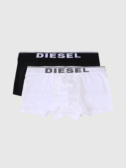 Diesel - UMBX-DAMIENTWOPACK, Schwarz/Weiß - Boxershorts - Image 1