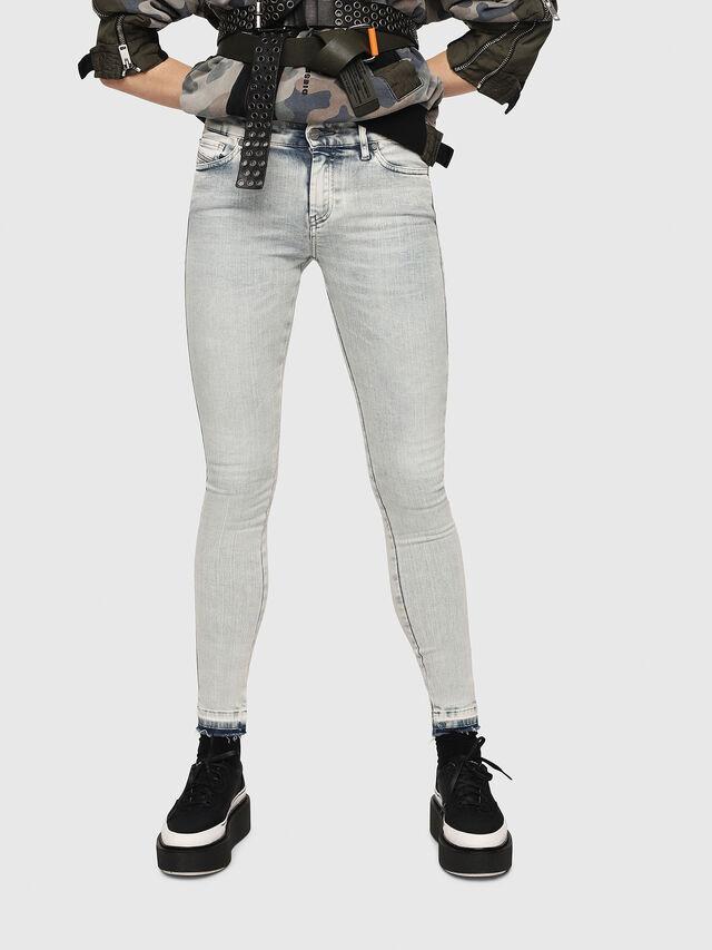 Diesel - Slandy 086AF, Hellblau - Jeans - Image 1