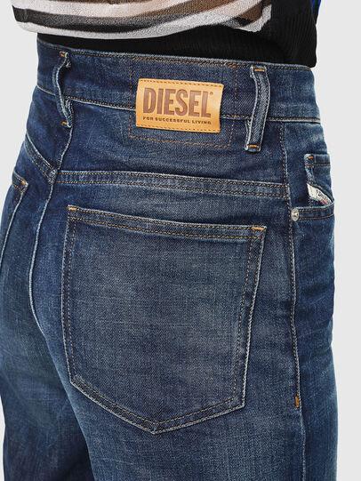 Diesel - Widee 0090W, Dunkelblau - Jeans - Image 5