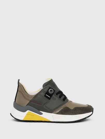 Diesel - S-BRENTHA LC, Armeegrün - Sneakers - Image 1