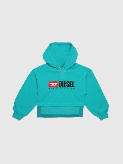 Diesel - SDINIEA, Wassergrün - Sweatshirts - Image 1