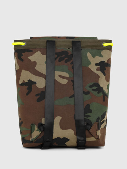 Diesel - VOLPAGO BACK, Camouflagegrün - Rucksäcke - Image 2