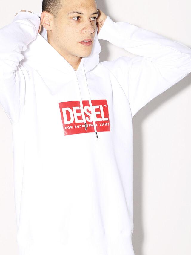 Diesel - DEIS-SHOOD, Weiß - Sweatshirts - Image 7