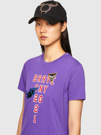 Diesel - CL-T-SILY-O, Violett - T-Shirts - Image 4