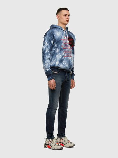Diesel - Thommer JoggJeans 069NE, Dunkelblau - Jeans - Image 5