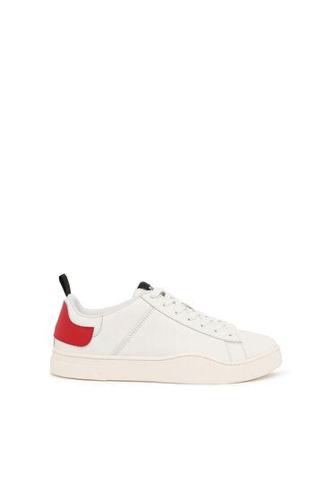 Low Top-Sneakers mit doppelter Fersenlasche