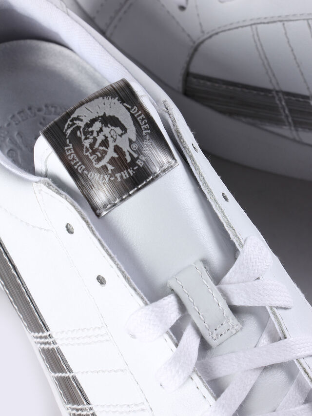 D-STRING LOW W, Weiß/Silber