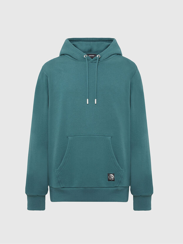 S-GIRK-HOOD-MOHI, Wassergrün - Sweatshirts