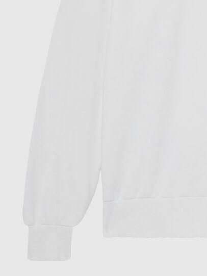Diesel - S-GIR-HOOD-DIVISION-, Weiß - Sweatshirts - Image 5