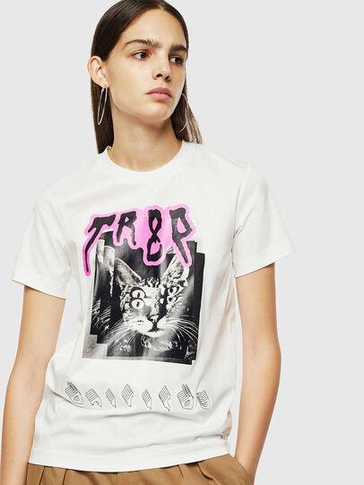 Diesel - T-SILY-YC, Weiß - T-Shirts - Image 1
