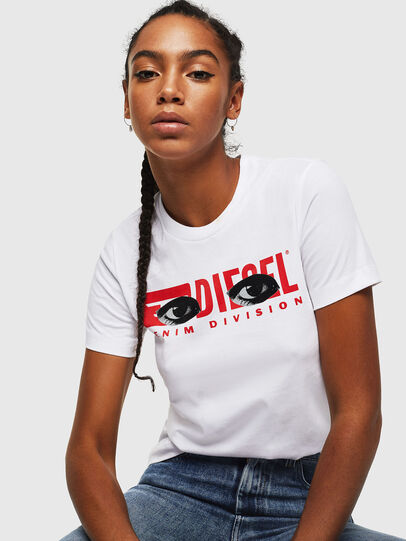 Diesel - T-SILY-YD, Weiß - T-Shirts - Image 4
