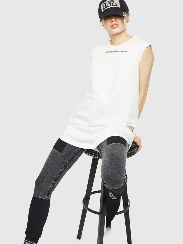 D-FELIX, Weiß - Kleider