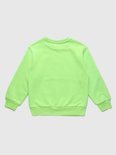 Diesel - SCOLIGCODE OVER, Neongrün - Sweatshirts - Image 2