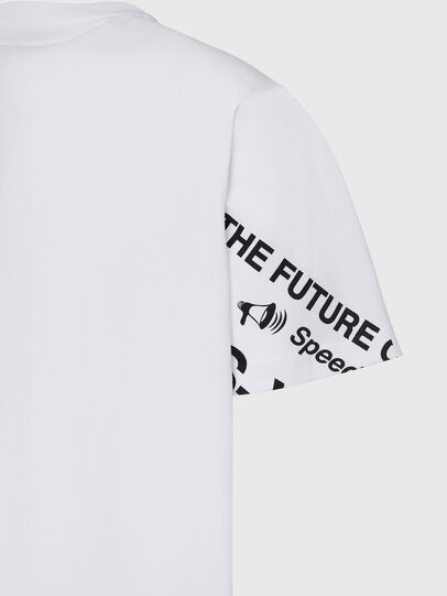 Diesel - T-JUST-FOLDED, Weiß - T-Shirts - Image 4