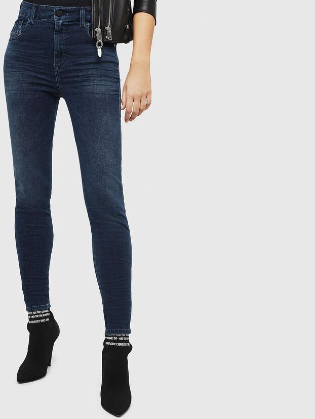 Slandy High 084UT, Dunkelblau - Jeans
