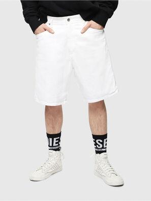 D-WILLOH, Weiß - Kurze Hosen