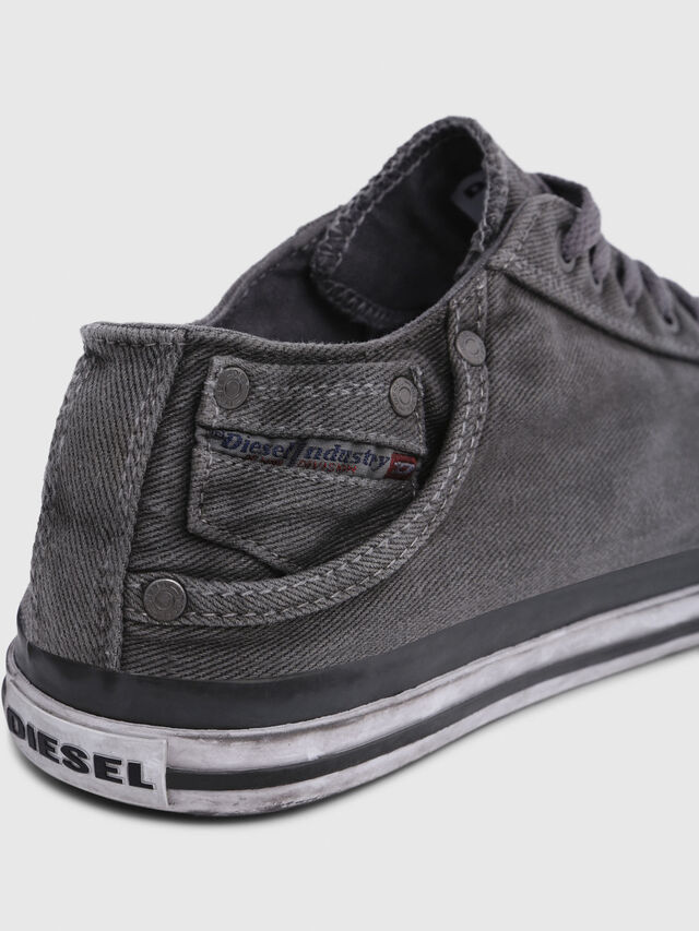Diesel - EXPOSURE LOW I, Silbergrau - Sneakers - Image 4