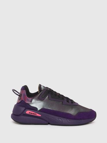 Sneaker aus schillerndem Nylon