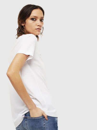 Diesel - T-SILY-S6, Weiß - T-Shirts - Image 2