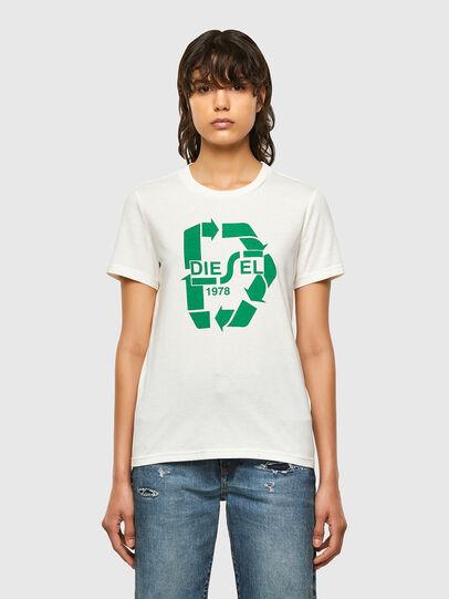 Diesel - T-SILY-V32, Weiß - T-Shirts - Image 1