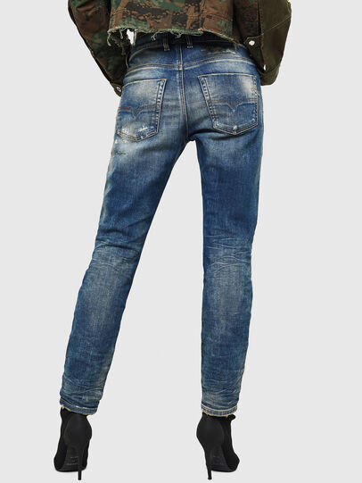 Diesel - Krailey JoggJeans 0870Q, Mittelblau - Jeans - Image 2