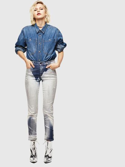 Diesel - Babhila 0094W, Mittelblau - Jeans - Image 6