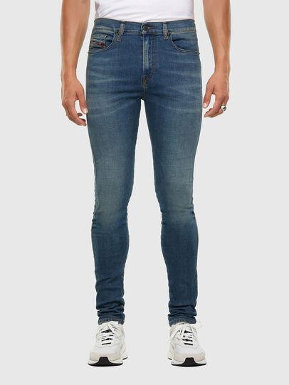 Diesel - D-Istort 009HC, Mittelblau - Jeans - Image 1