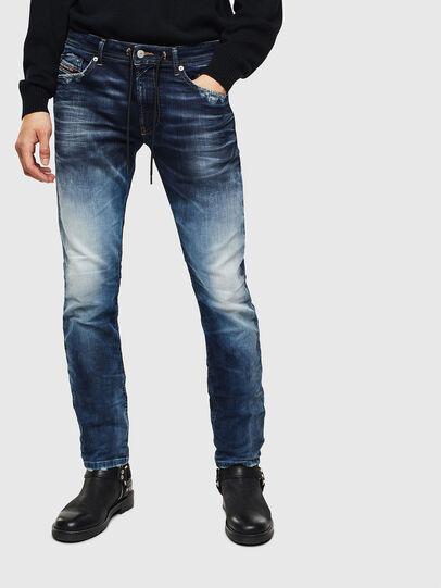 Diesel - Thommer JoggJeans 069KD, Dunkelblau - Jeans - Image 1