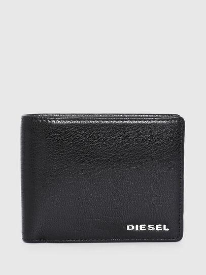 Diesel - HIRESH S, Schwarz/Weiss - Kleine Portemonnaies - Image 1