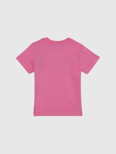 Diesel - TJUSTLOGOB-FL MC, Rosa - T-Shirts und Tops - Image 2