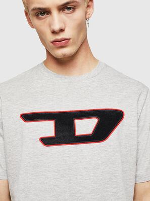 T-JUST-DIVISION-D, Grau - T-Shirts