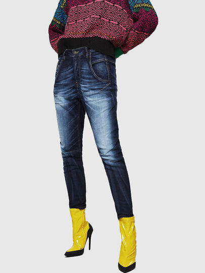 Diesel - Fayza JoggJeans 069IE, Dunkelblau - Jeans - Image 1