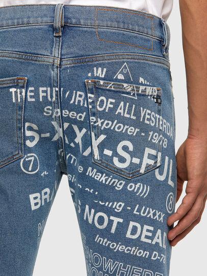 Diesel - D-Strukt 009DX, Hellblau - Jeans - Image 4